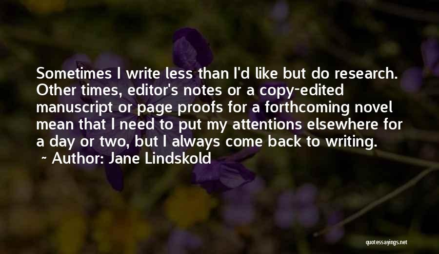 Jane Lindskold Quotes 758133