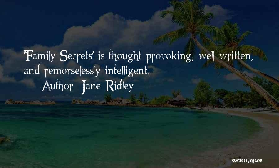 Jane Ridley Quotes 792327