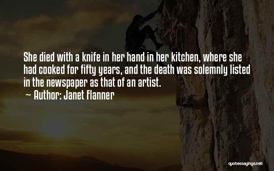 Janet Flanner Quotes 1503749