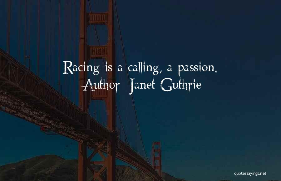 Janet Guthrie Quotes 907237