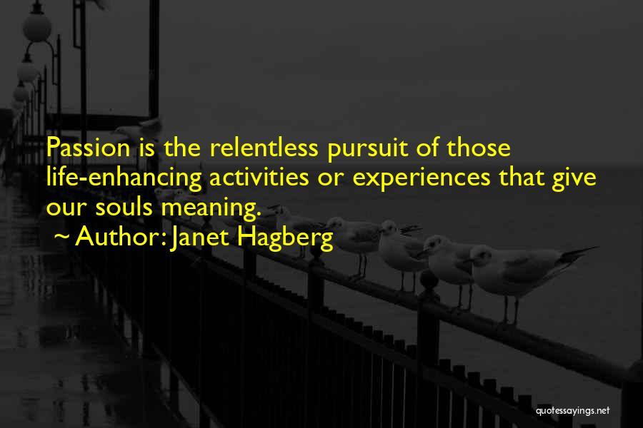 Janet Hagberg Quotes 1453510