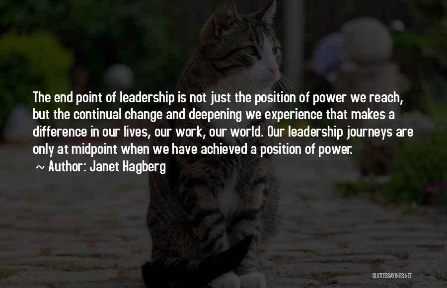 Janet Hagberg Quotes 580537
