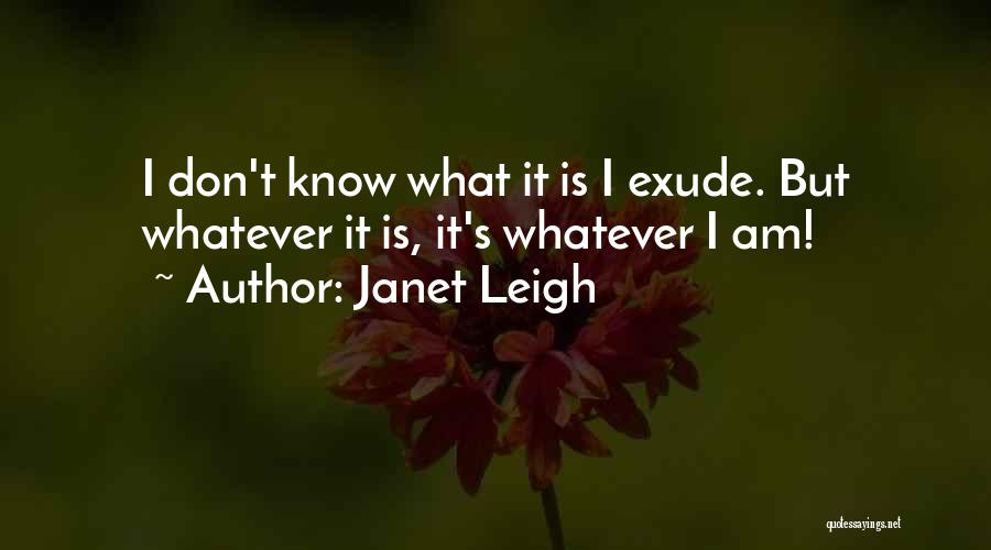 Janet Leigh Quotes 1837337