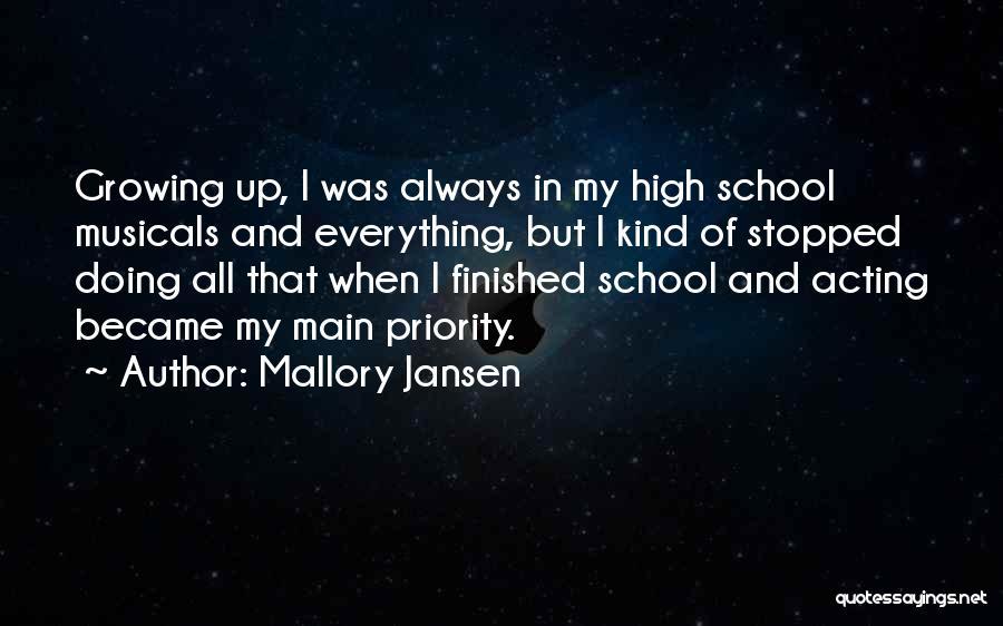 Jansen Quotes By Mallory Jansen