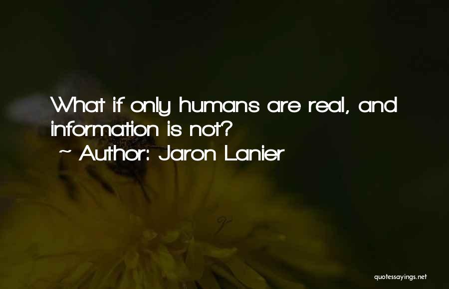 Jaron Lanier Quotes 1012339