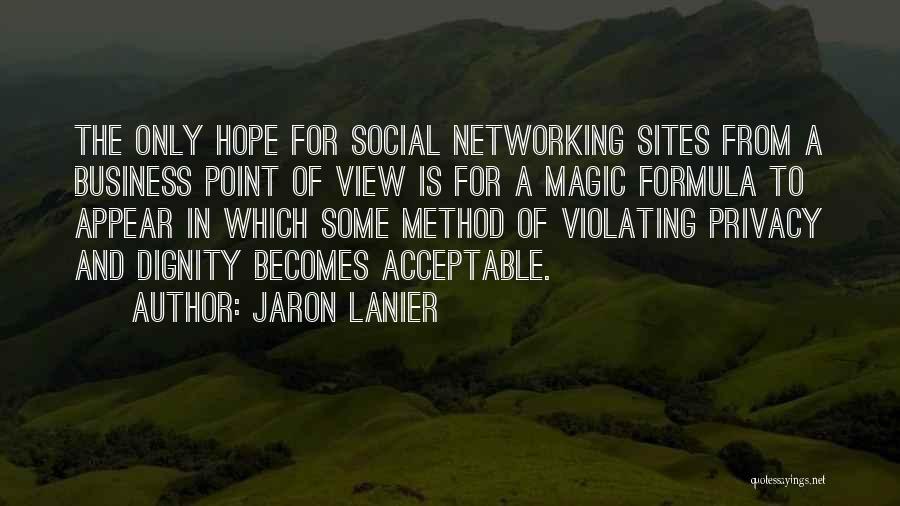 Jaron Lanier Quotes 1584709
