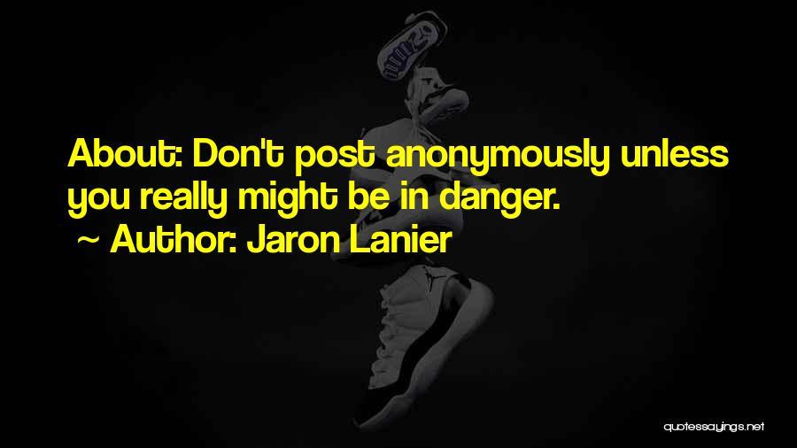 Jaron Lanier Quotes 1751972