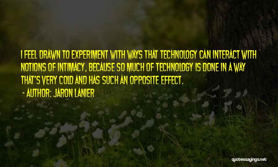 Jaron Lanier Quotes 994366