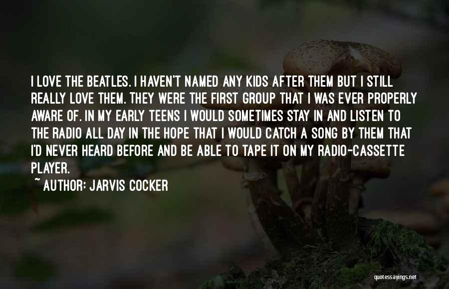 Jarvis Cocker Quotes 1034232