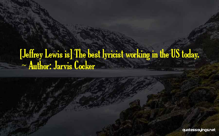 Jarvis Cocker Quotes 1267531