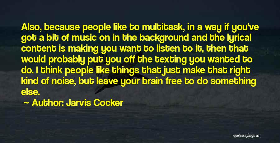 Jarvis Cocker Quotes 504267