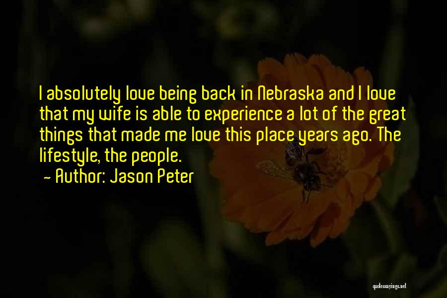 Jason Peter Quotes 2097608