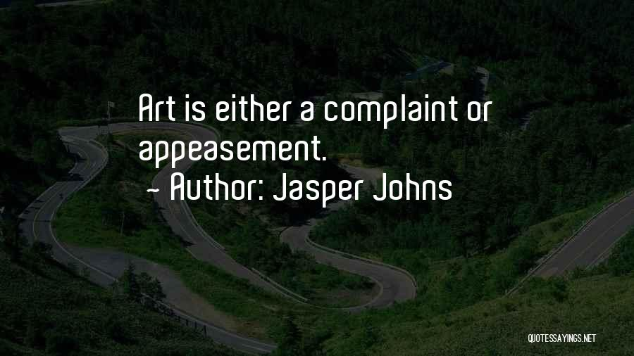 Jasper Johns Quotes 146628