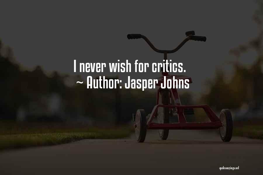Jasper Johns Quotes 1603810