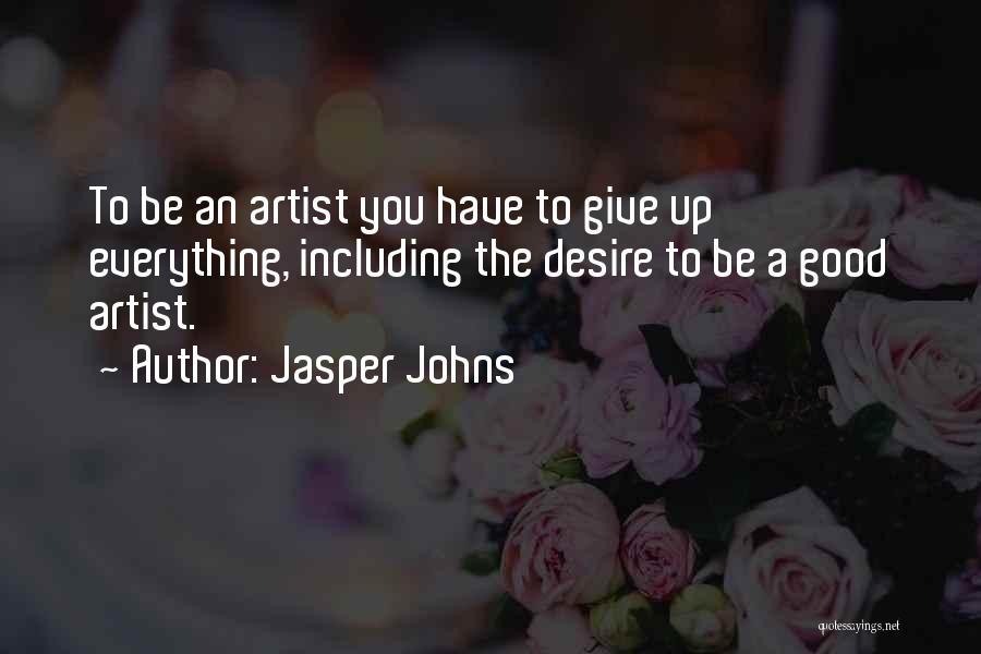 Jasper Johns Quotes 88352
