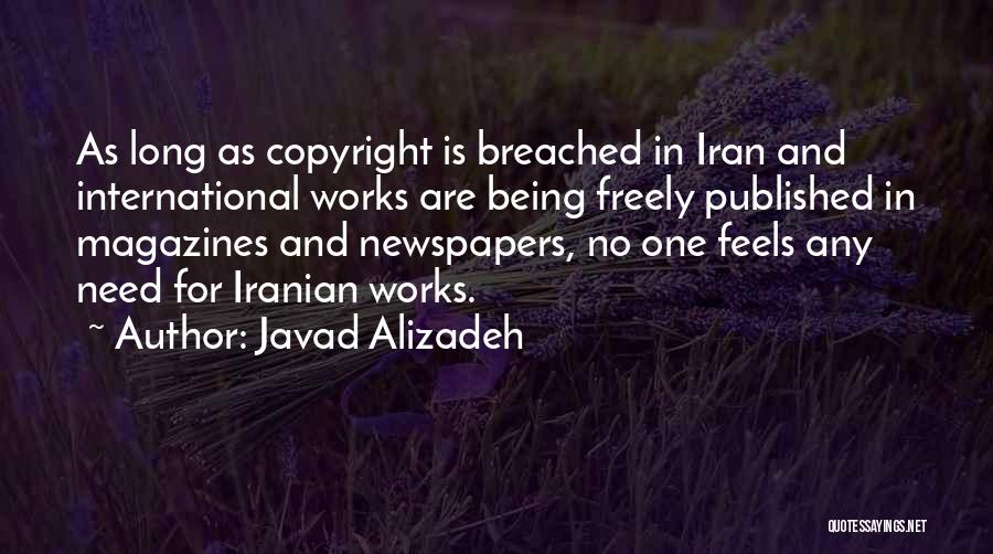 Javad Alizadeh Quotes 1441937