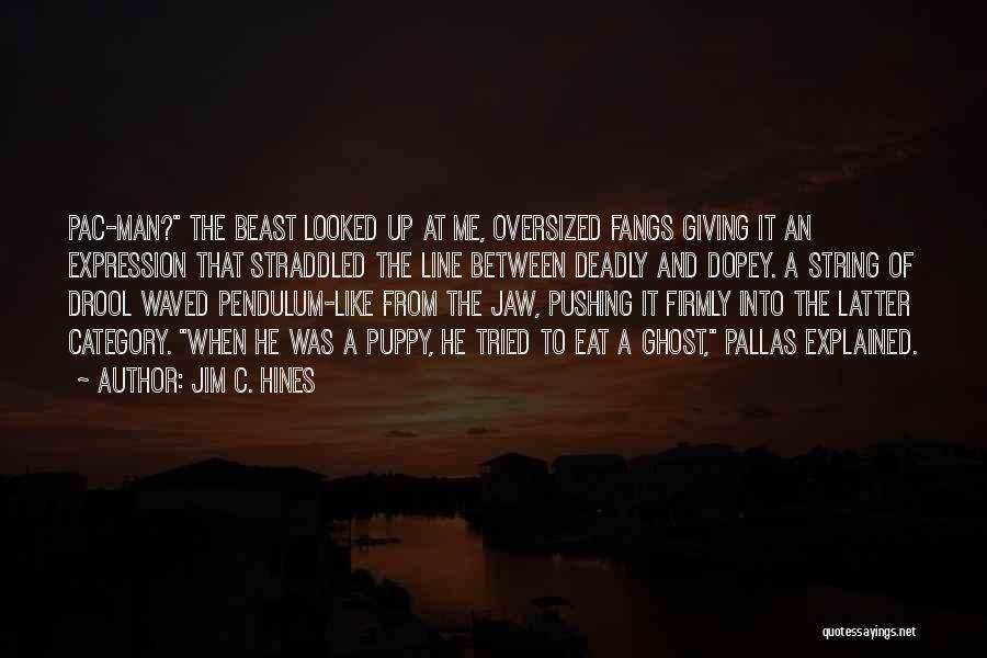 Jaw Line Quotes By Jim C. Hines