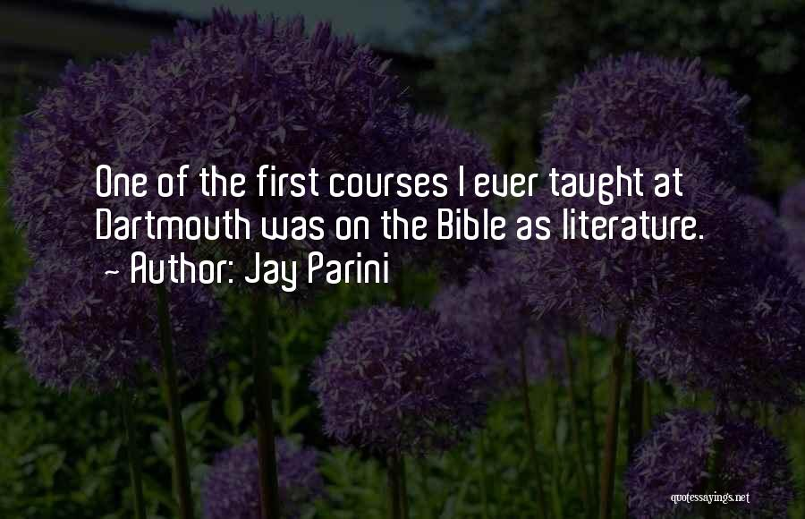 Jay Parini Quotes 1144686