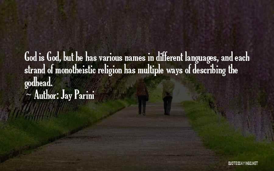 Jay Parini Quotes 861718