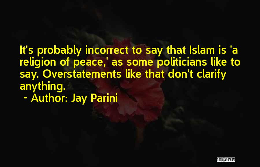 Jay Parini Quotes 893691