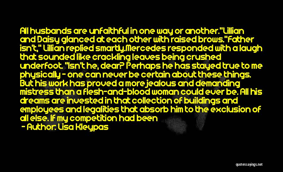 Jealous Of Another Woman Quotes By Lisa Kleypas