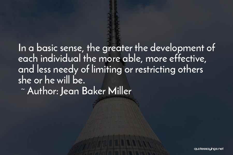 Jean Baker Miller Quotes 512975