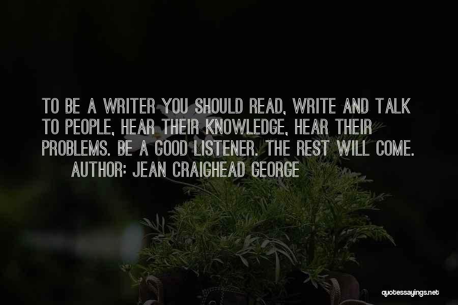 Jean Craighead George Quotes 408757