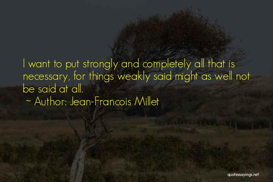 Jean-Francois Millet Quotes 2190218