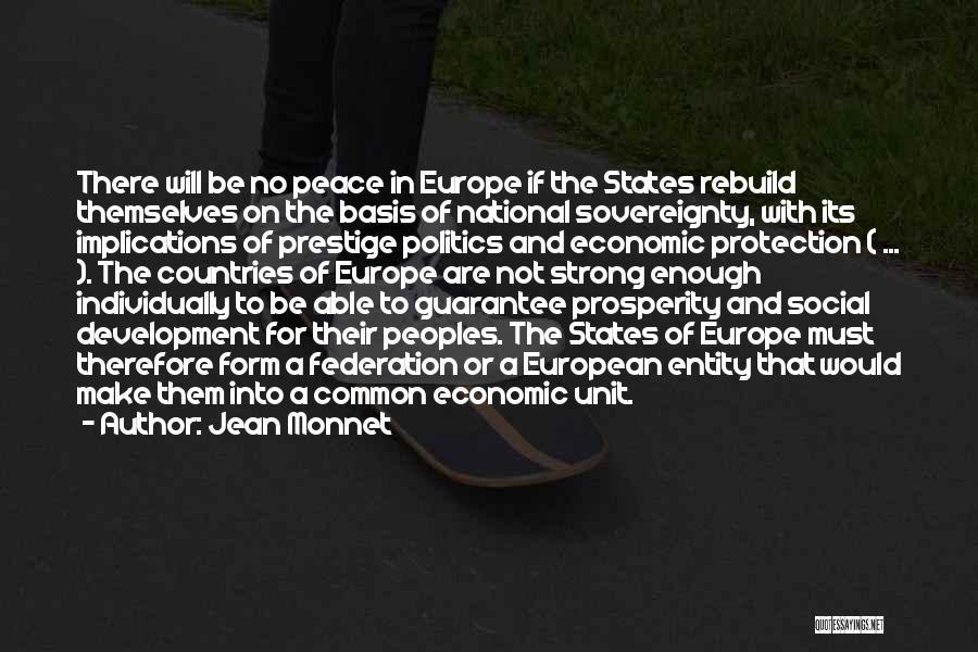 Jean Monnet Quotes 2054280