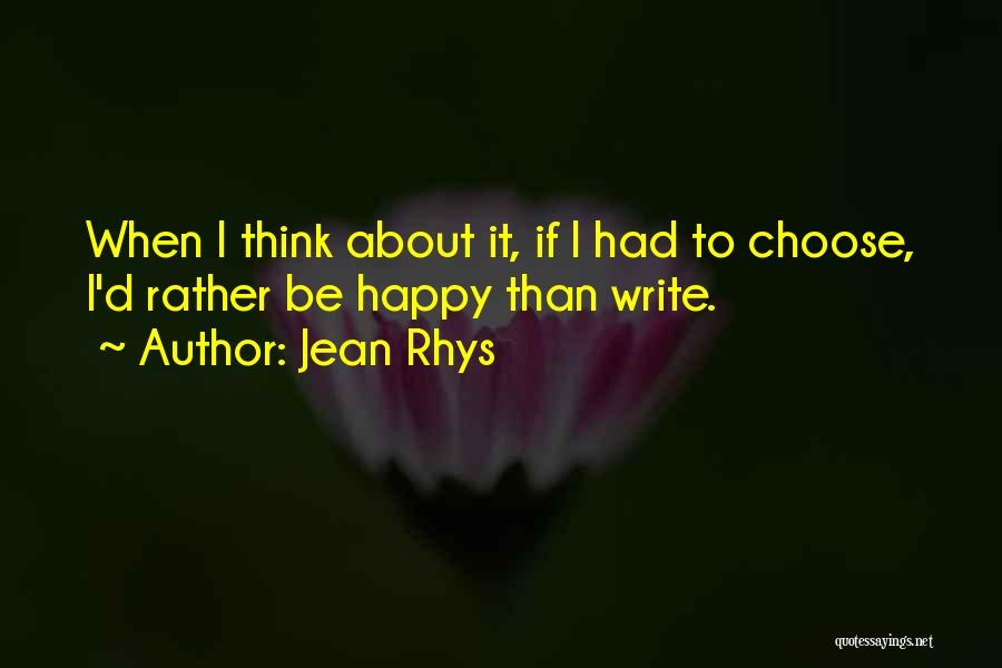 Jean Rhys Quotes 1251155