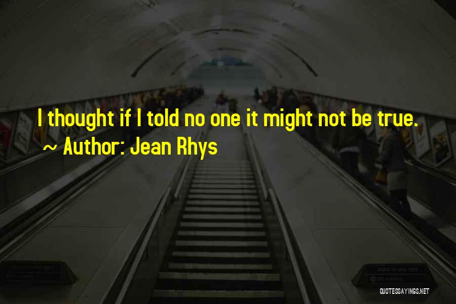 Jean Rhys Quotes 198901