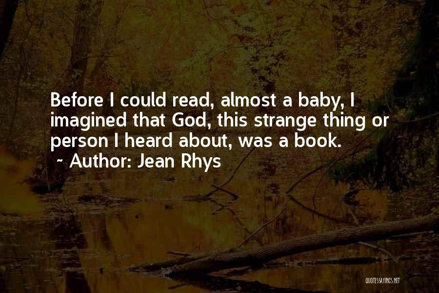 Jean Rhys Quotes 532772