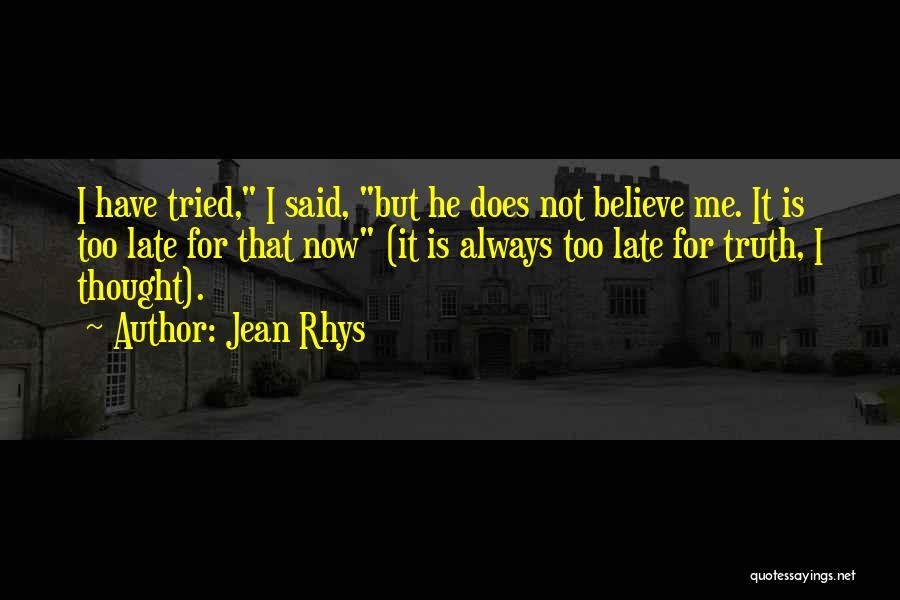 Jean Rhys Quotes 931793