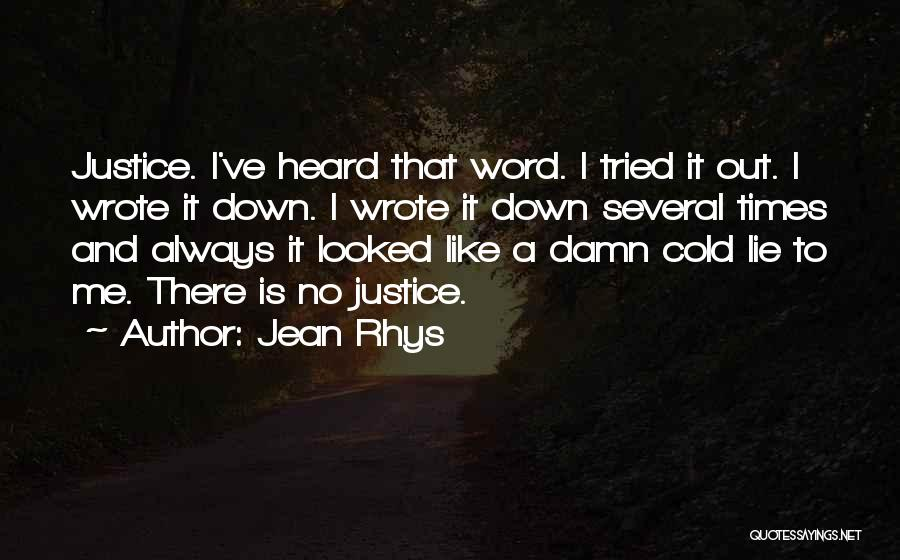 Jean Rhys Quotes 954314