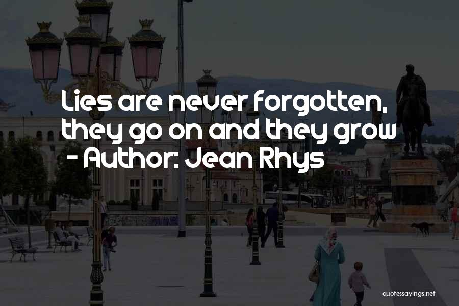 Jean Rhys Quotes 98764