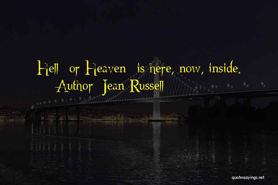 Jean Russell Quotes 283616