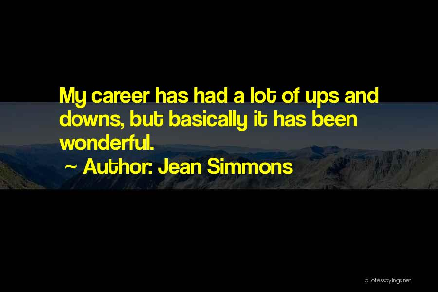 Jean Simmons Quotes 1063091