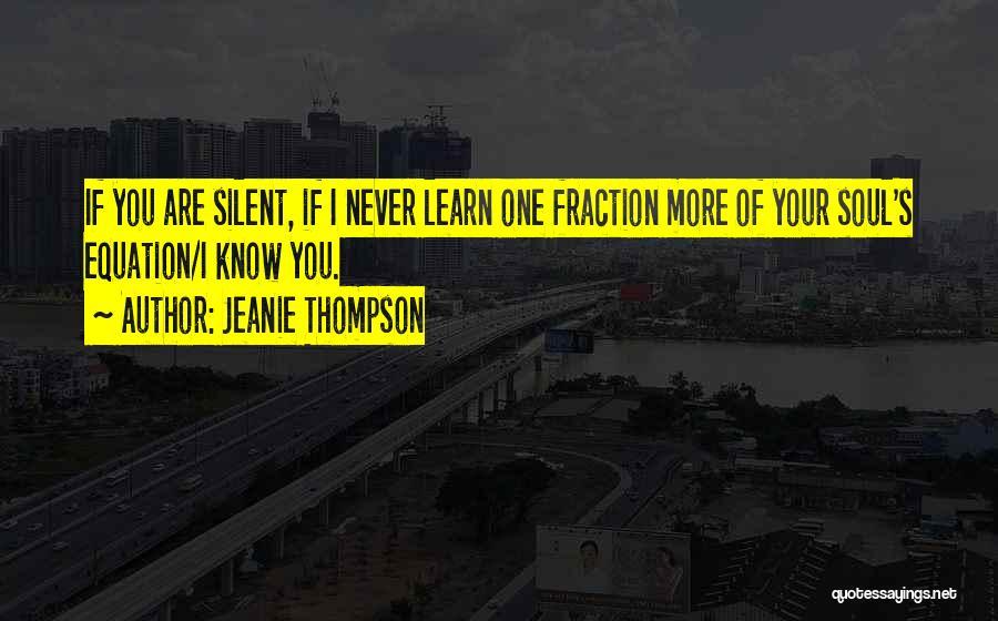 Jeanie Thompson Quotes 1094834