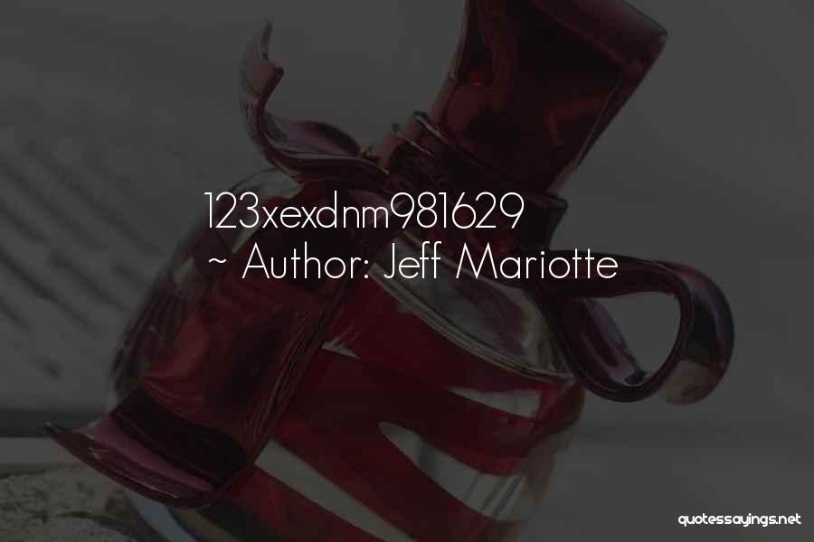 Jeff Mariotte Quotes 1310652