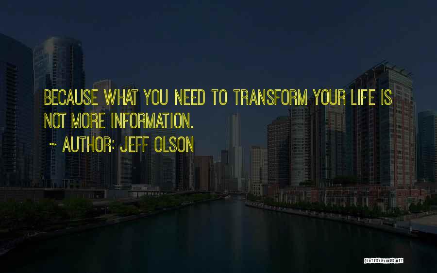 Jeff Olson Quotes 1055305