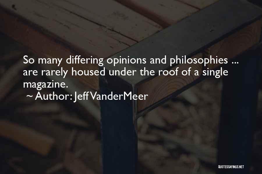 Jeff VanderMeer Quotes 470644
