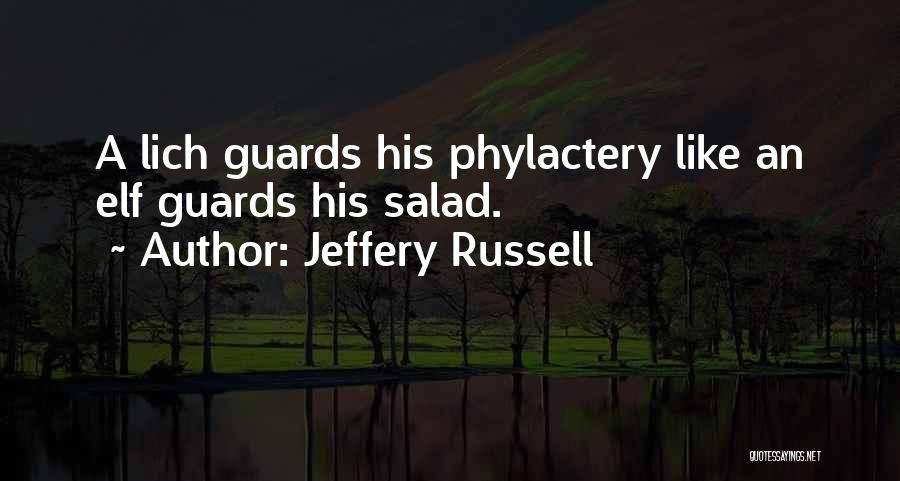 Jeffery Russell Quotes 2270506