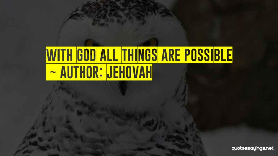Jehovah Quotes 1910819