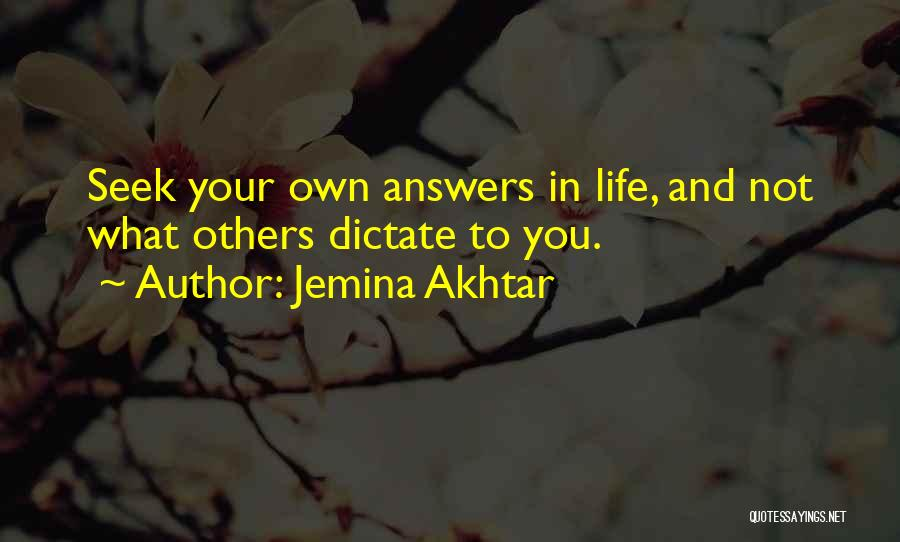 Jemina Akhtar Quotes 987073