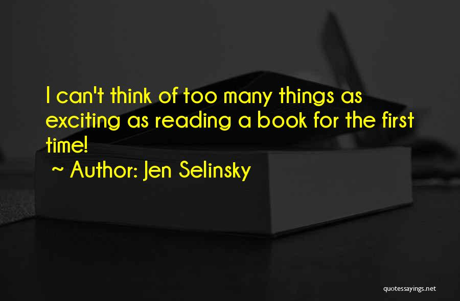 Jen Selinsky Quotes 1744868