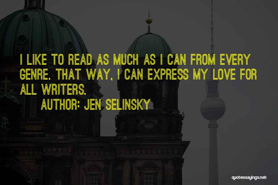 Jen Selinsky Quotes 575010