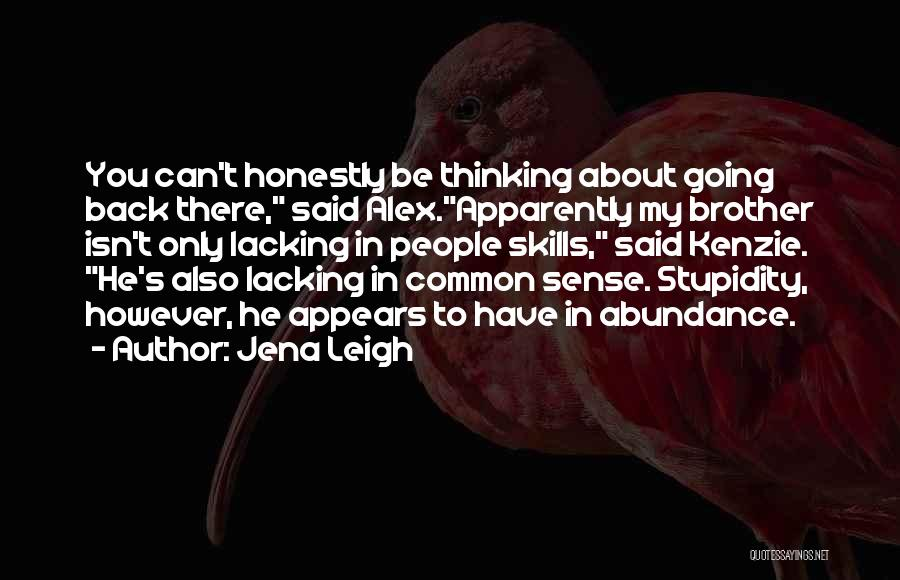 Jena Leigh Quotes 1491045