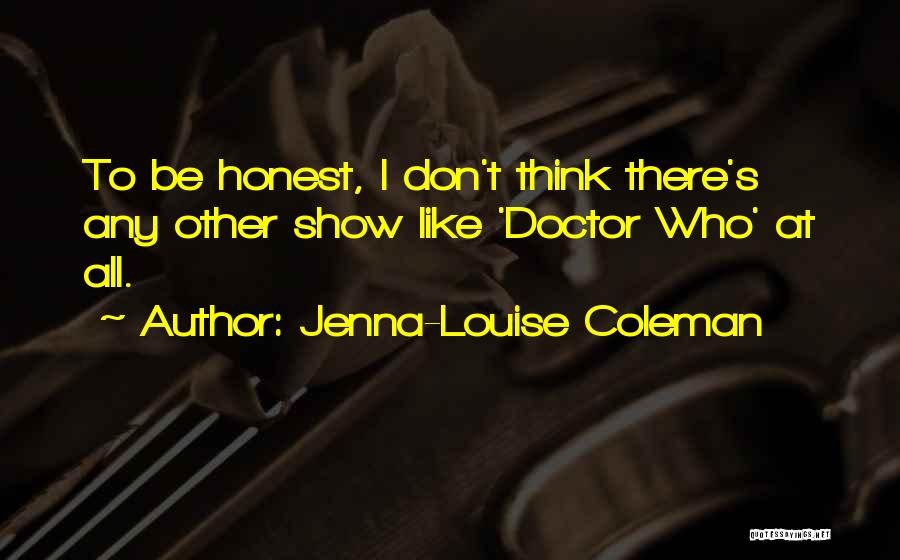 Jenna-Louise Coleman Quotes 391531