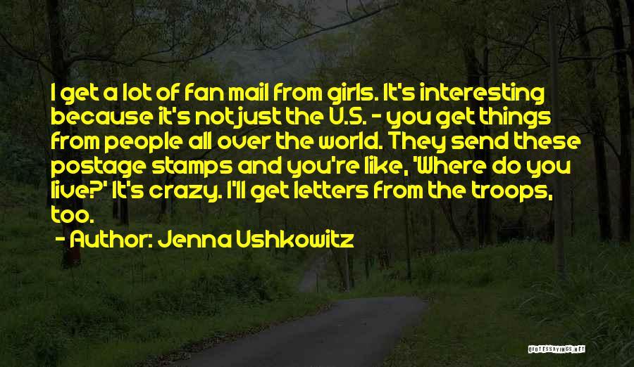 Jenna Ushkowitz Quotes 915109