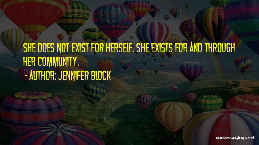 Jennifer Block Quotes 1351081